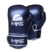 Luva de Boxe MKS Energy - Metalic Blue
