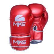 Luva de Boxe MKS Energy - Metalic Red