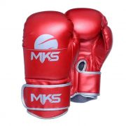 Luva de Boxe MKS Energy - Metalic Red