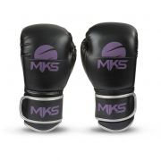 Luva de Boxe MKS Energy - Black/Purple (esgotado)