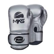 Luva de Boxe MKS Energy Prateada - Modelo 2021