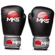 Luva de Boxe MKS Prospect - Black & Silver