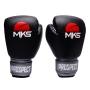 Luva de Boxe MKS New Prospect Black & Silver