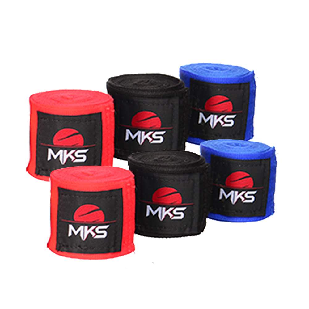 Bandagem Fita Protetora Elástica MKS 2,55m (1 Par)