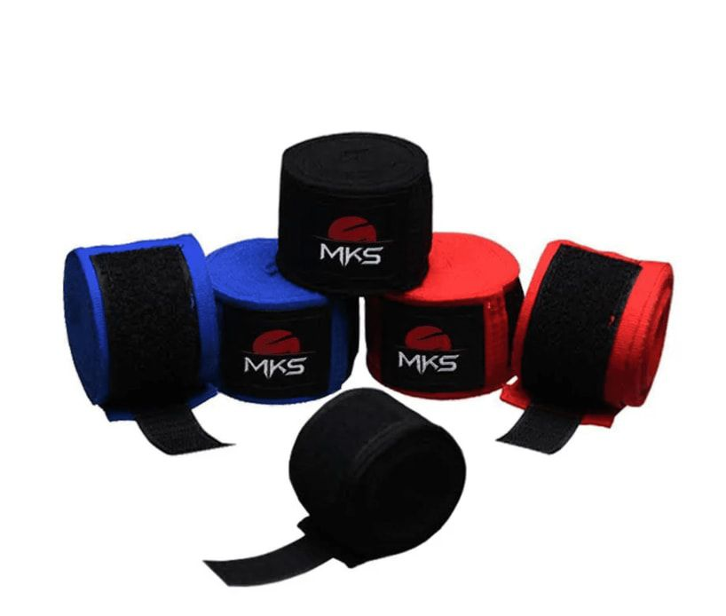 Fita Protetora Elástica MKS 3,55m - 3 Pares Coloridos + tela lavagem