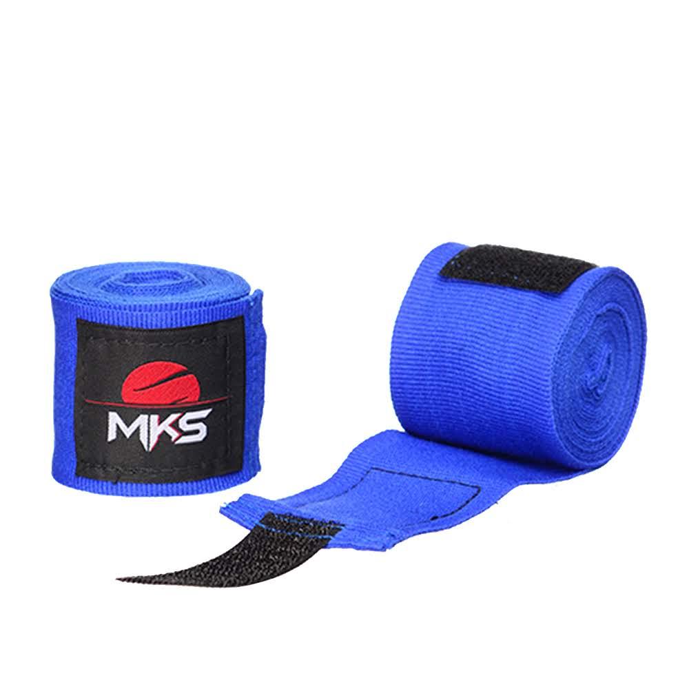 Bandagem Elástica MKS 2,55m - Pack 3 Pares Coloridas