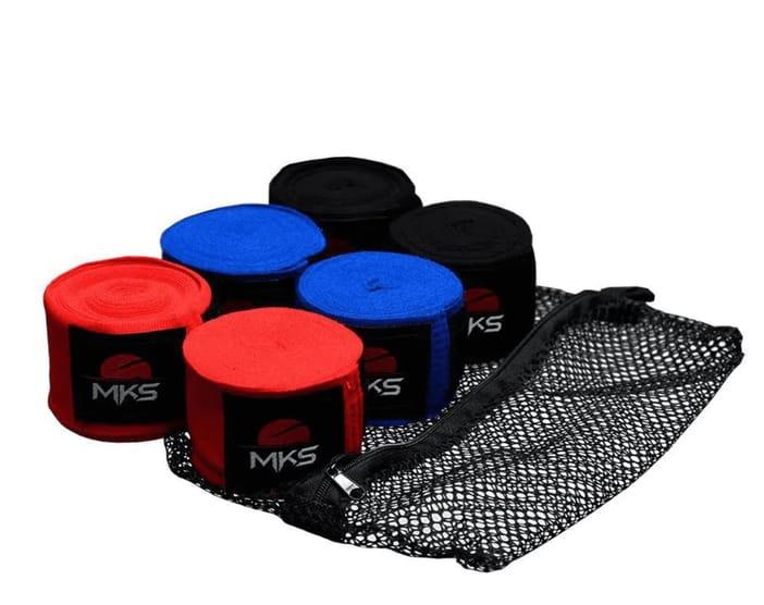 Fita Protetora Elástica MKS 4,55m - 3 Pares Coloridos + tela lavagem