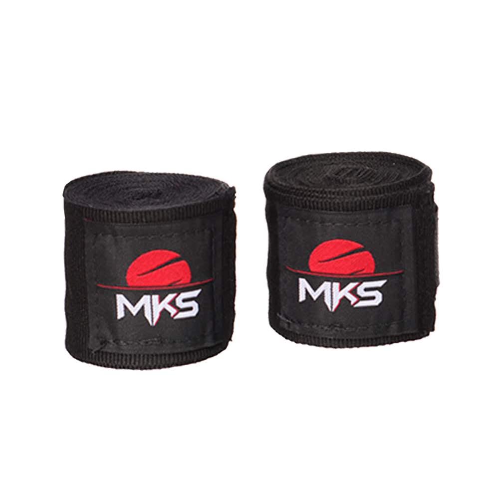 Bandagem Fita Protetora Elástica MKS - Pack 3 Pares Pretas