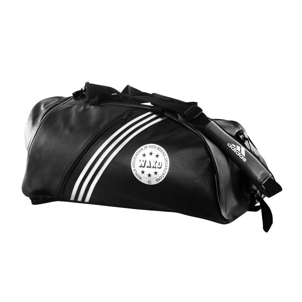 Training Bag adidas 2 em 1 WAKO - Preto/Branco
