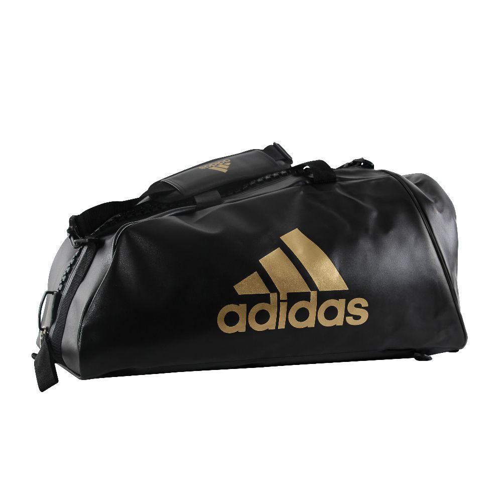 Training Bag adidas 2 em 1 WAKO - Preto/Dourado