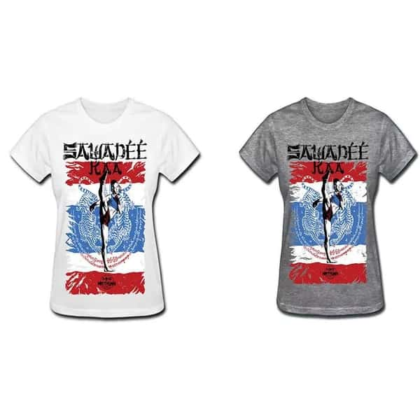 Camiseta Feminina MKS Nations - Muay Thai