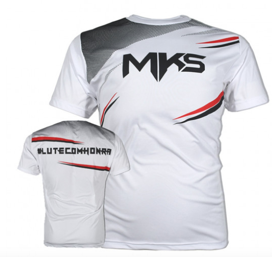 Camiseta MKS Dry Power - Branca