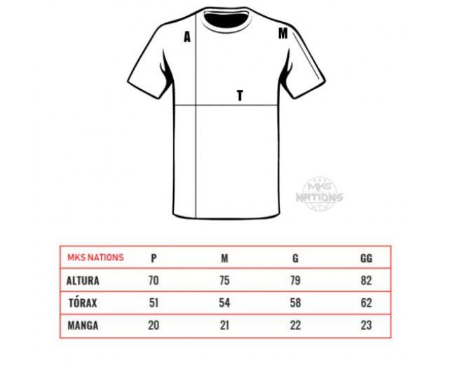 Camiseta MKS #LUTECOMHONRA - Cinza