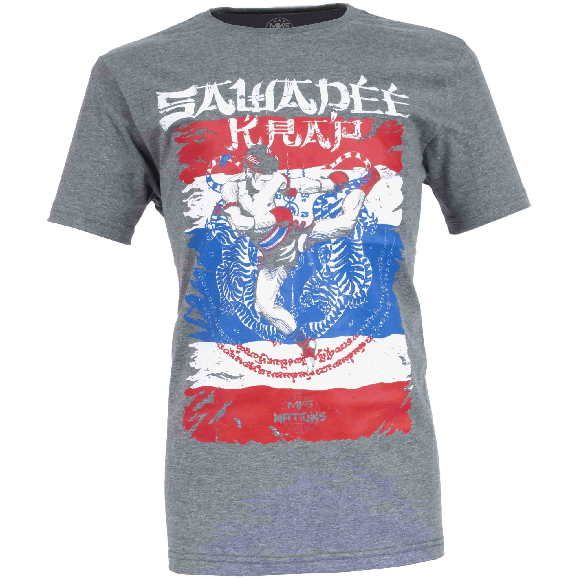 Camiseta MKS Nations Muay Thai