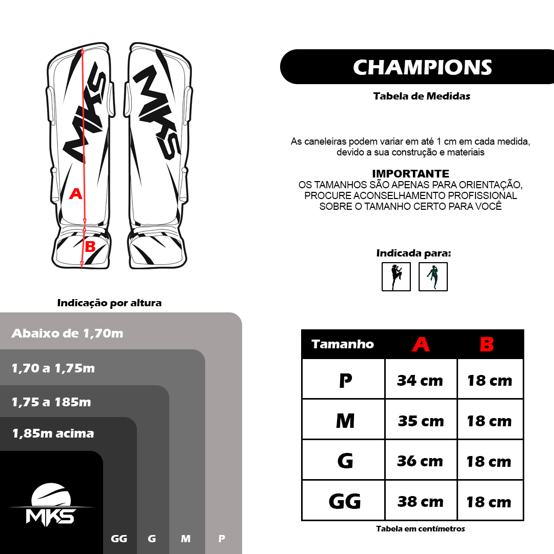 Caneleira MKS Champions III