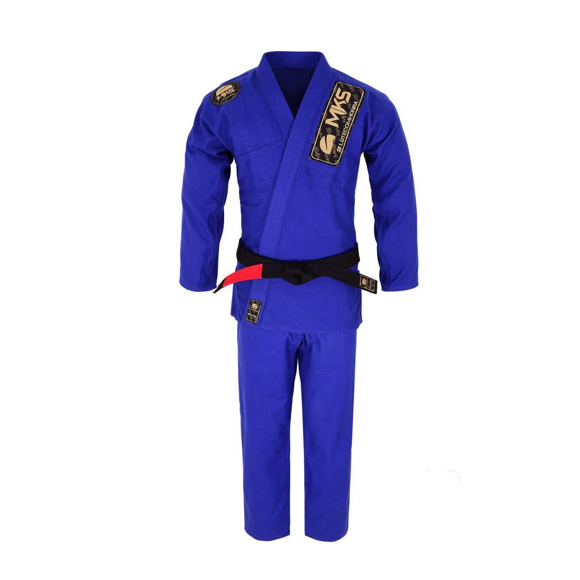 Kimono de Jiu-Jitsu MKS Golden Azul