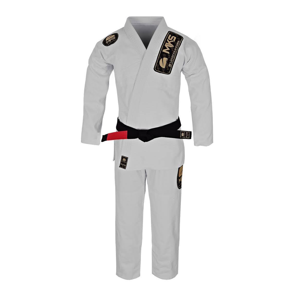 Kimono de Jiu-Jitsu MKS Golden Branco