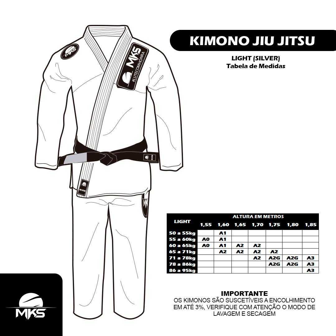 Kimono de Jiu-Jitsu MKS Light