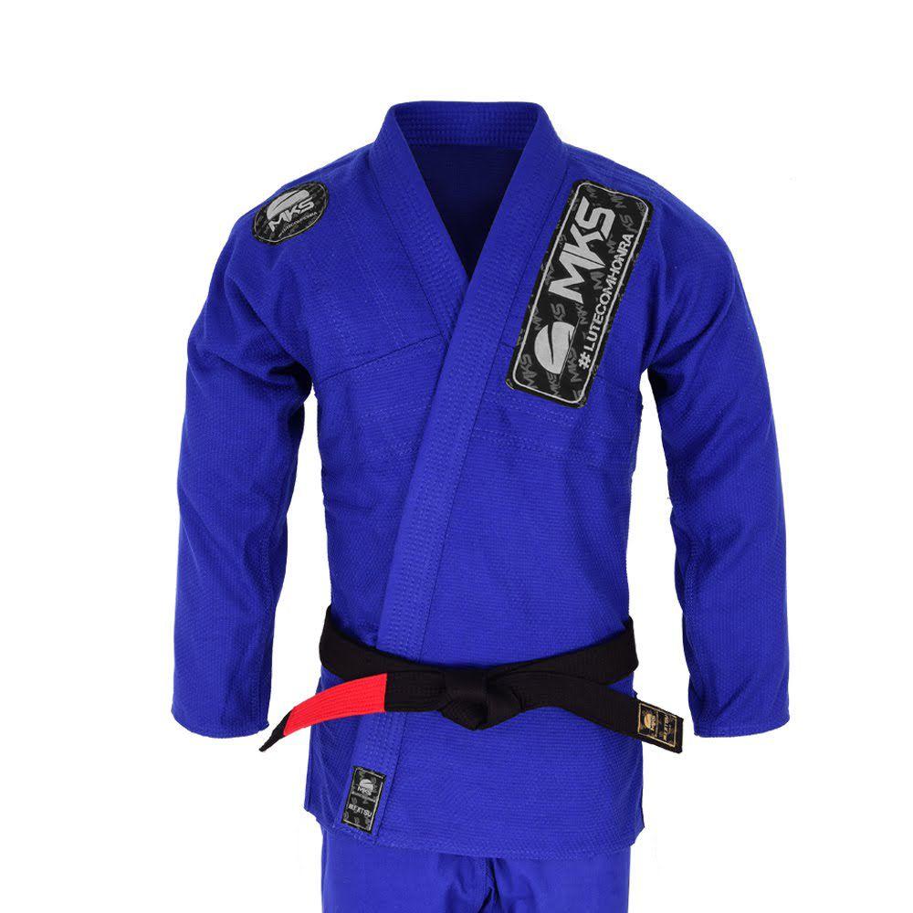 Kimono de Jiu-Jitsu MKS Light Azul