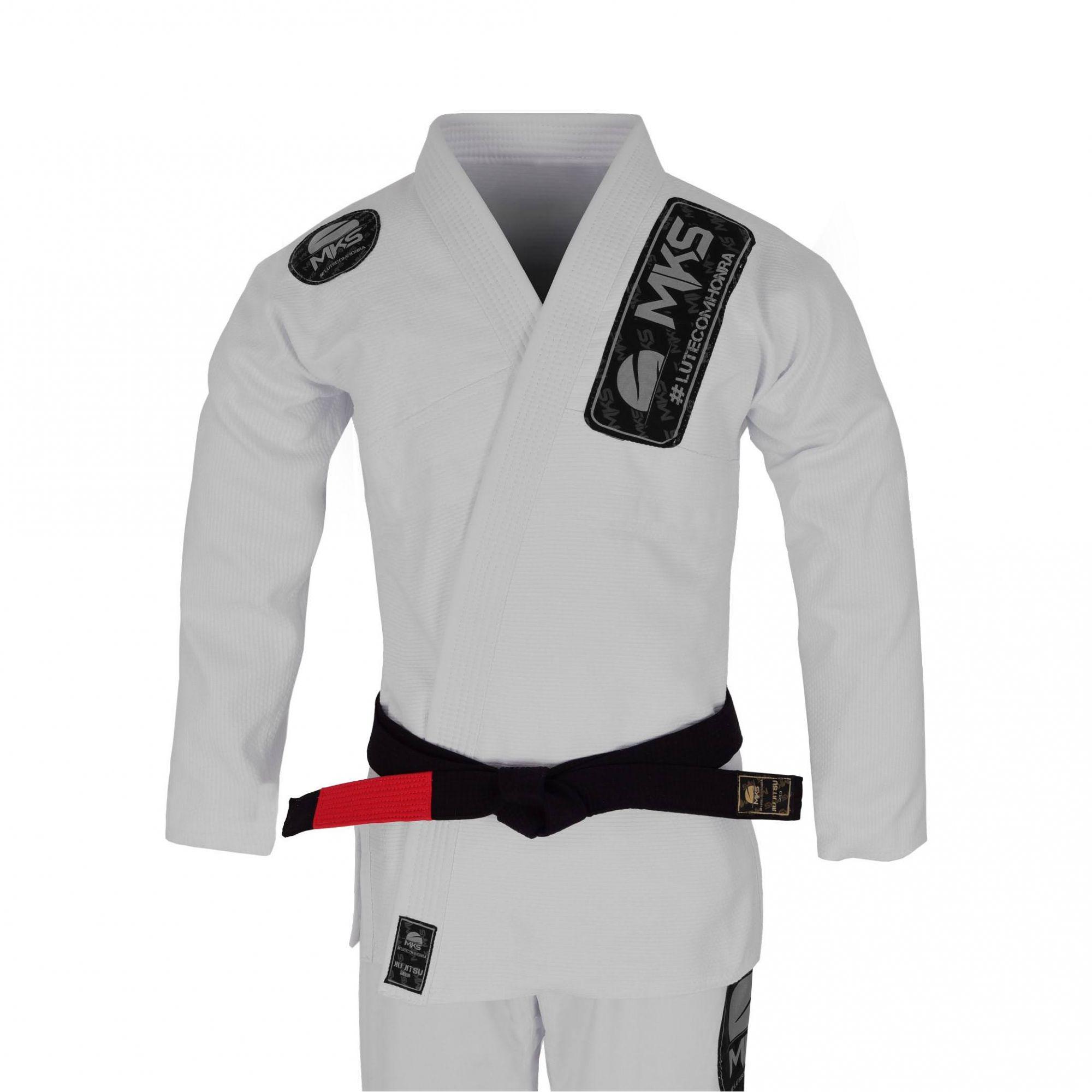 Kimono de Jiu-Jitsu MKS Light Branco