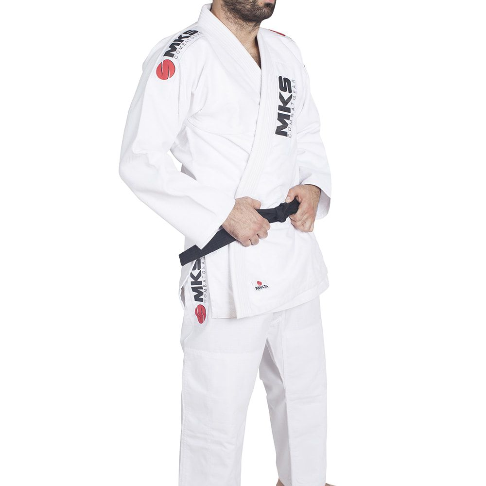 Kimono de Jiu-Jitsu MKS Contest - Branco