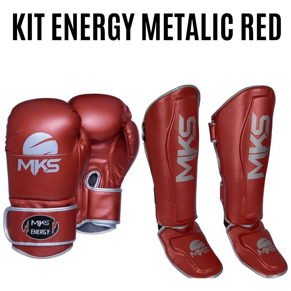 Kit Energy Metalic Red