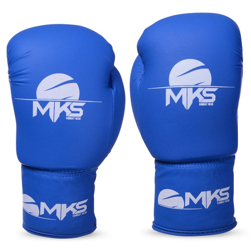 Luva de Boxe MKS Infantil Azul