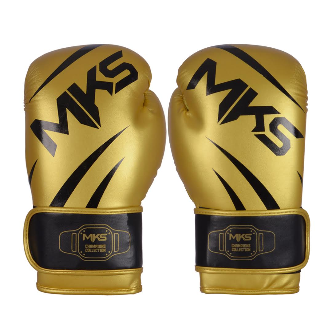 Luva de Boxe MKS Champions III Gold