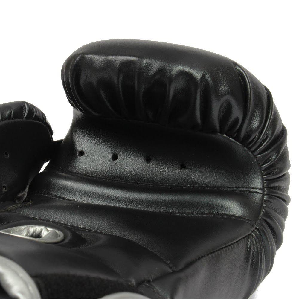 Luva de Boxe MKS Energy - Black & Silver