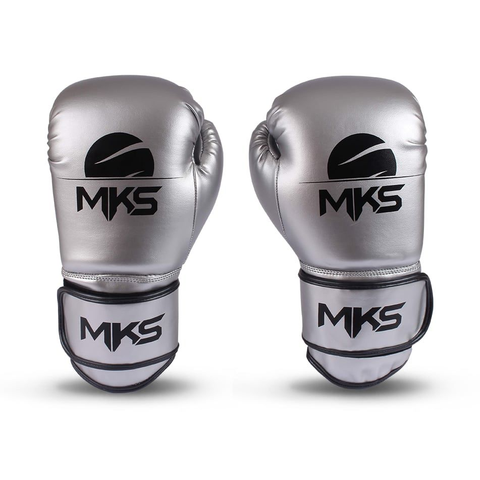 7d2c404e4 Luva de Boxe MKS Energy Metalic Silver - Luva de boxe e muay thai ...