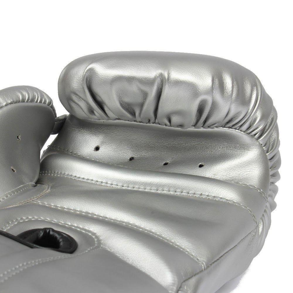 Luva de Boxe MKS Energy - Silver