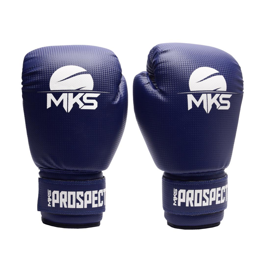 Luva de Boxe MKS New Prospect Blue