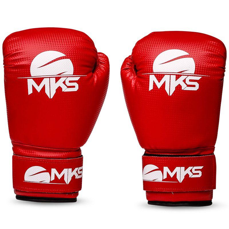 c51d74cef Luva de Boxe MKS Prospect Red - Luva de boxe e muay thai MKS Combat ...