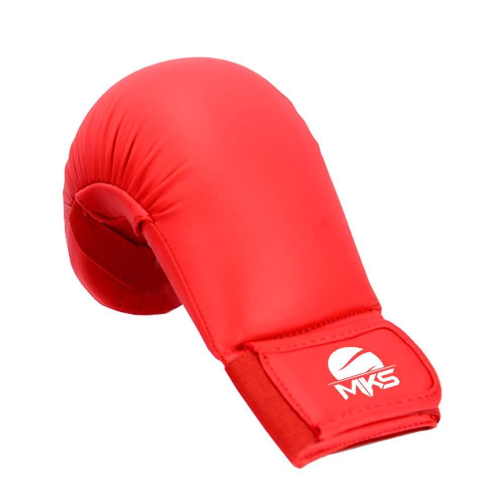 Luva de Karatê MKS Vermelha modelo 2020
