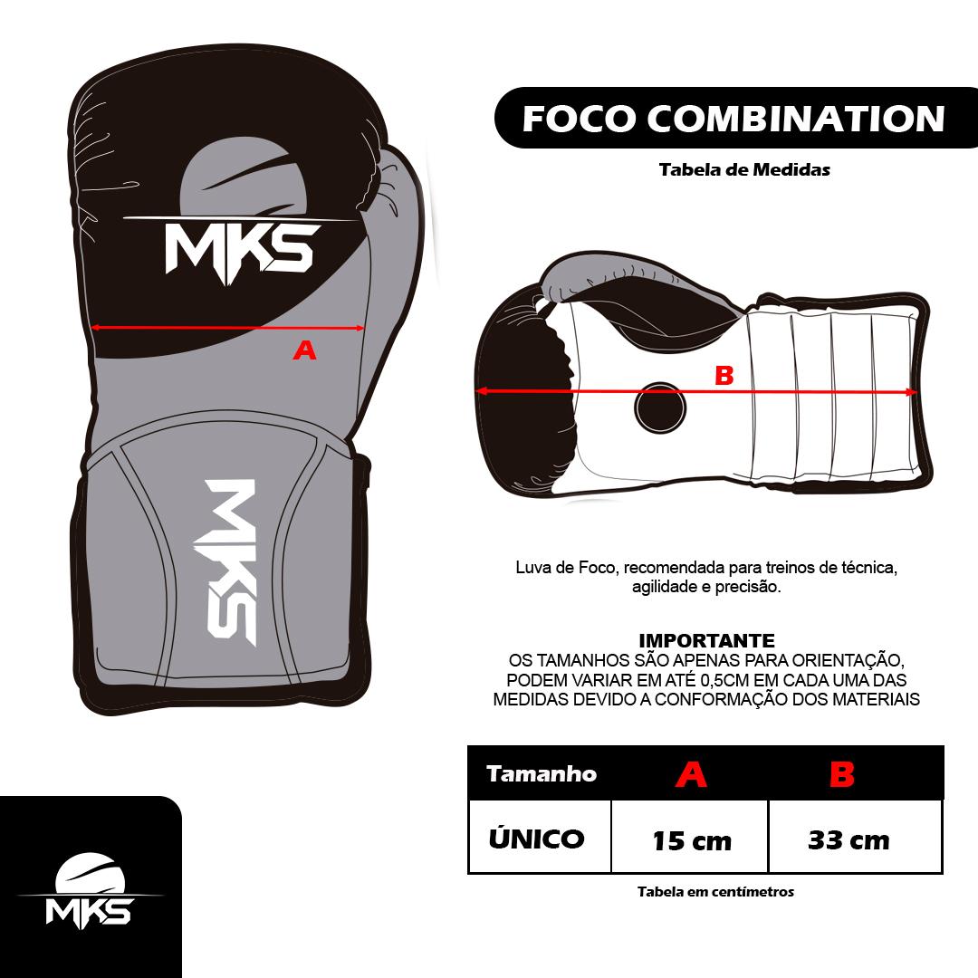 Luva Manopla Coach MKS Combat Combination