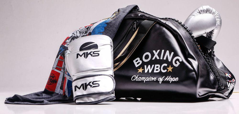 Training Bag adidas 2 em 1 Boxe WBC Preto/Dourado