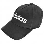 Boné Adidas Aba Curva Dailly - Preto/Branco