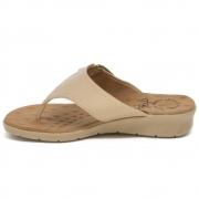 Sandália de Dedo Malu Super Comfort Cléo Velcro