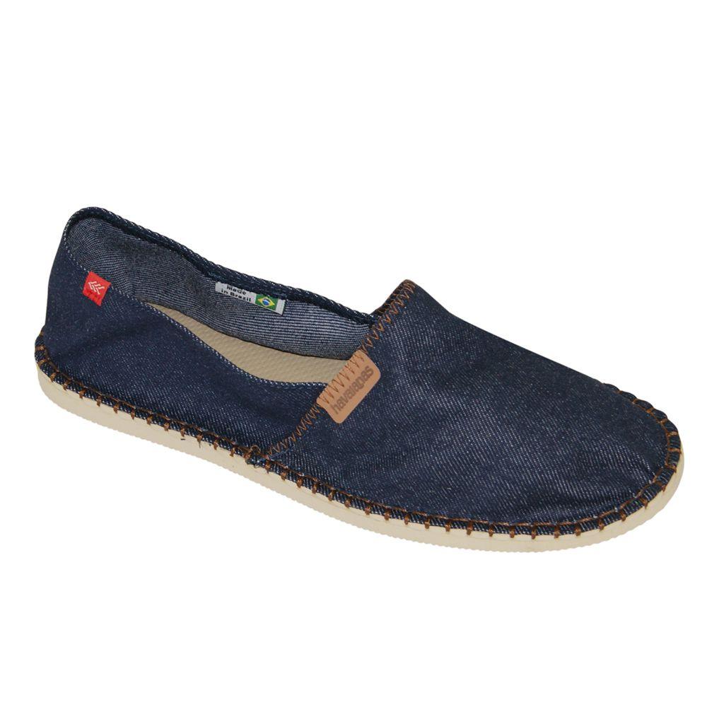 Alpargata Havaianas New Relax Azul Jeans