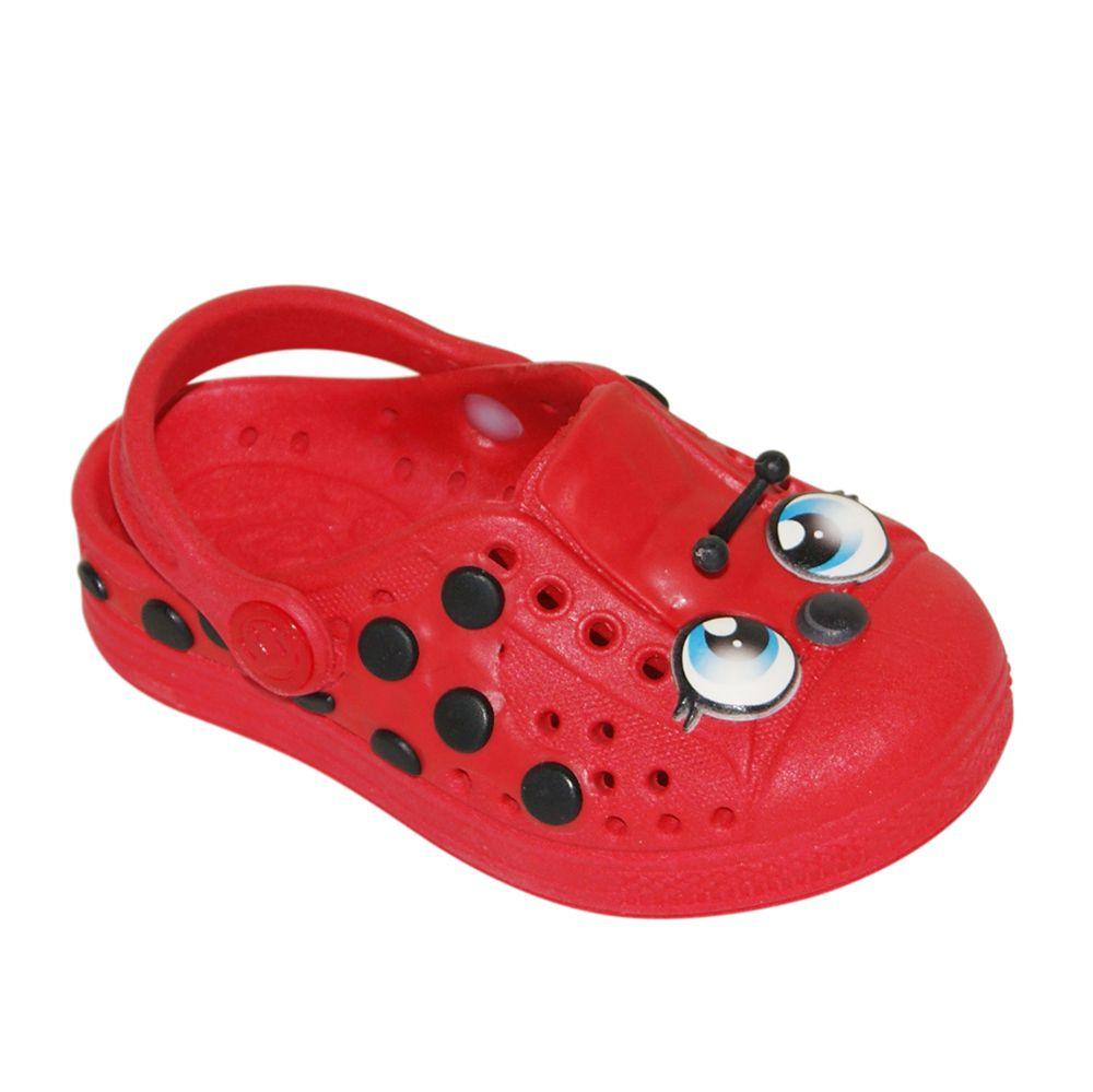 Babuche Infantil Plugt LadyBug