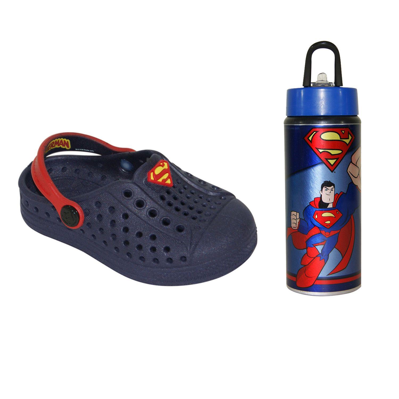 Babuche Plugt Superman - Acompanha Squeeze
