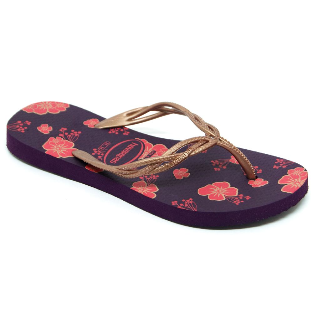 Chinelo Havaianas Flash Sweet Flores