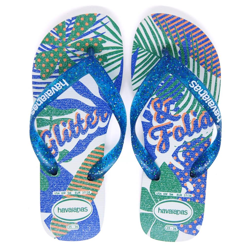 Chinelo Havaianas Glitter Slim Festa