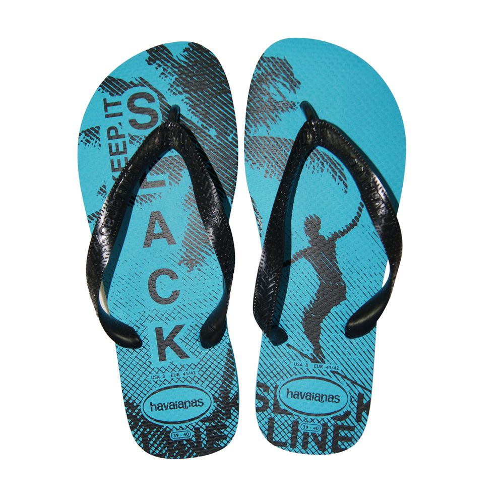 Chinelo Havaianas Top Athletic Azul