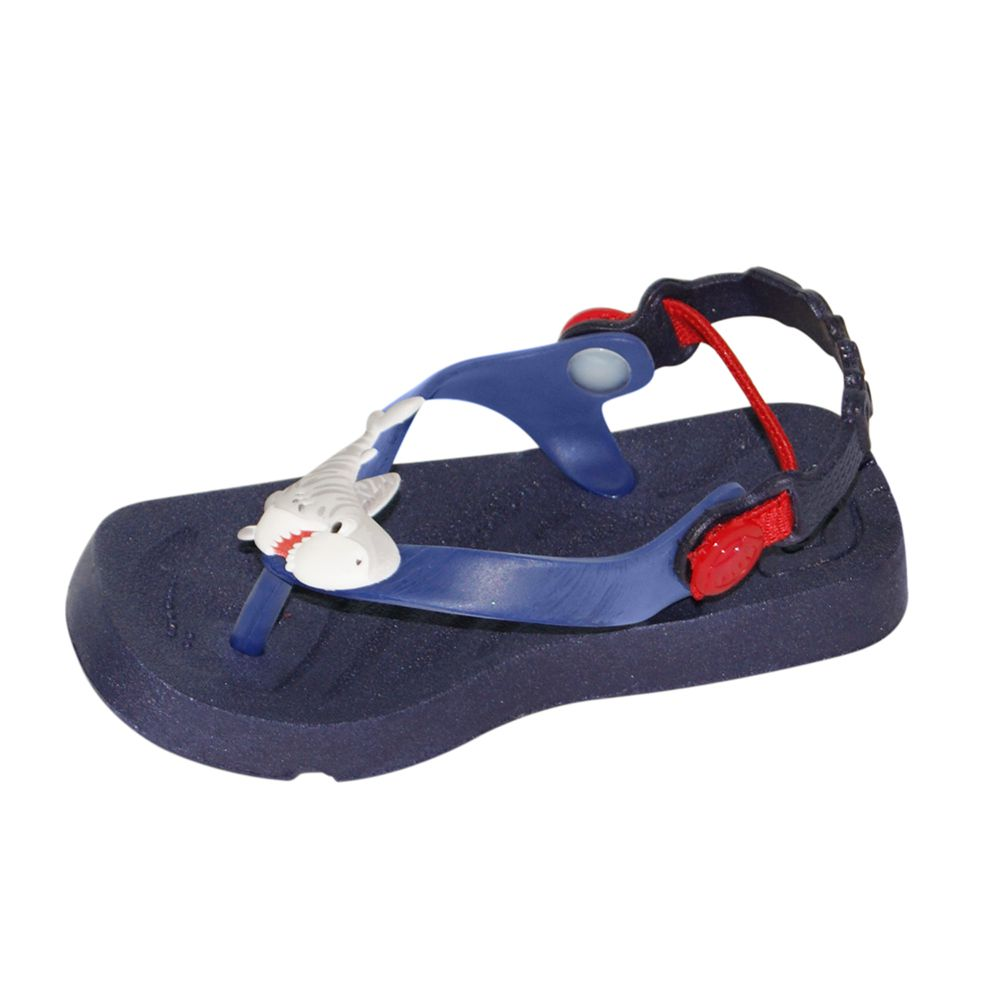 Chinelo Plugt Baby Beach Azul