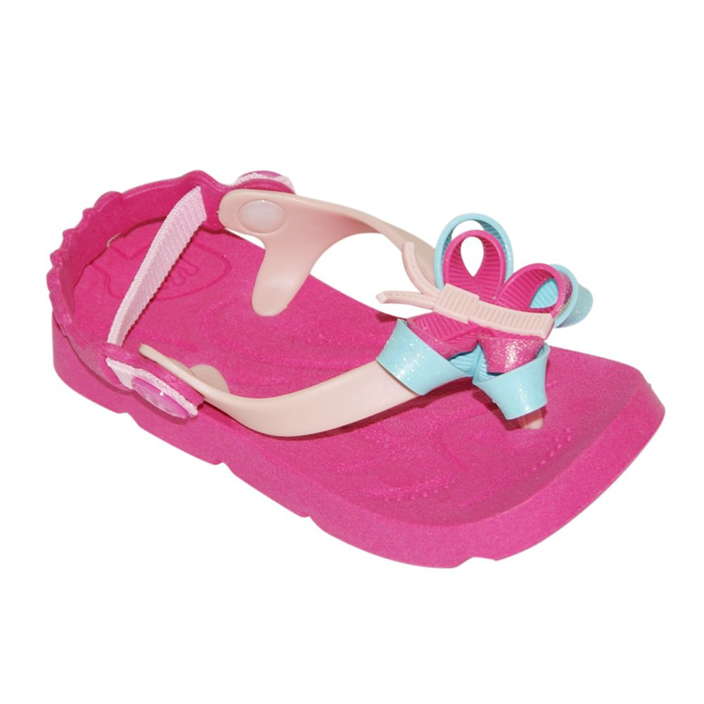Chinelo Plugt Baby Beach Rosa