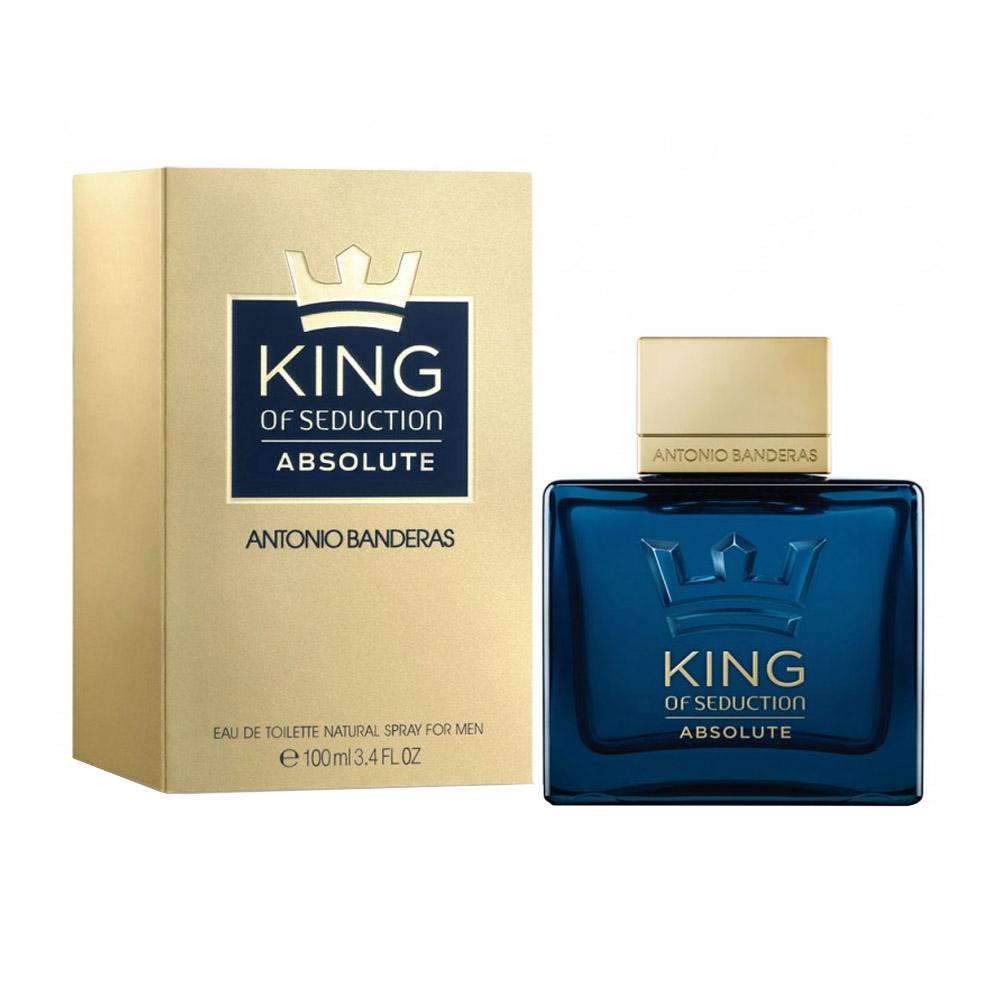 Perfume Antonio Banderas King of Seduction Absolute 100ml