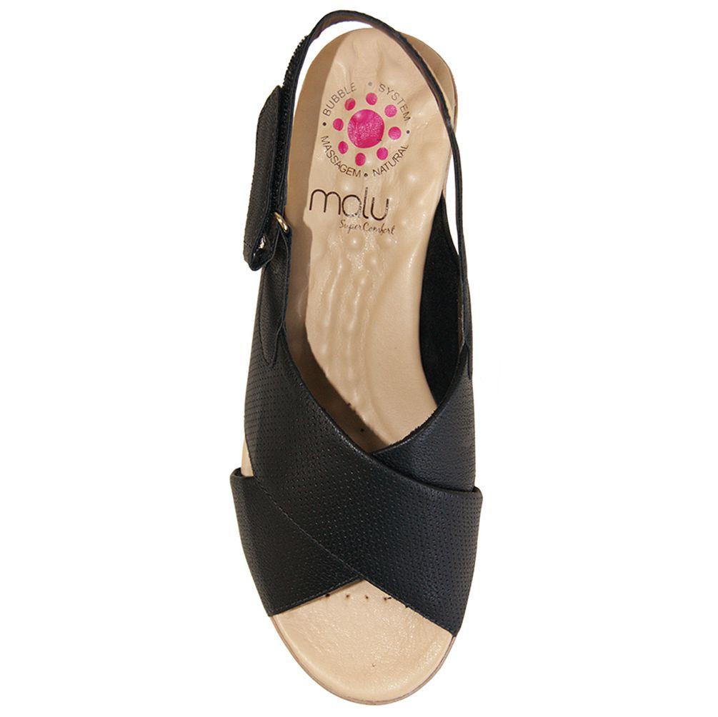 Sandália Malu Super Comfort Tiras