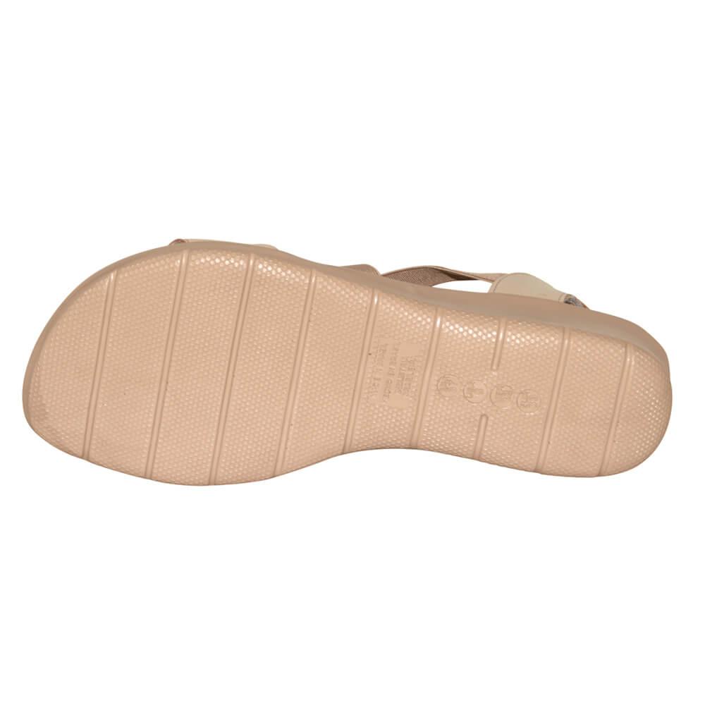 Sandália Malu Super Comfort Cléo Tira Cruzada Elástico