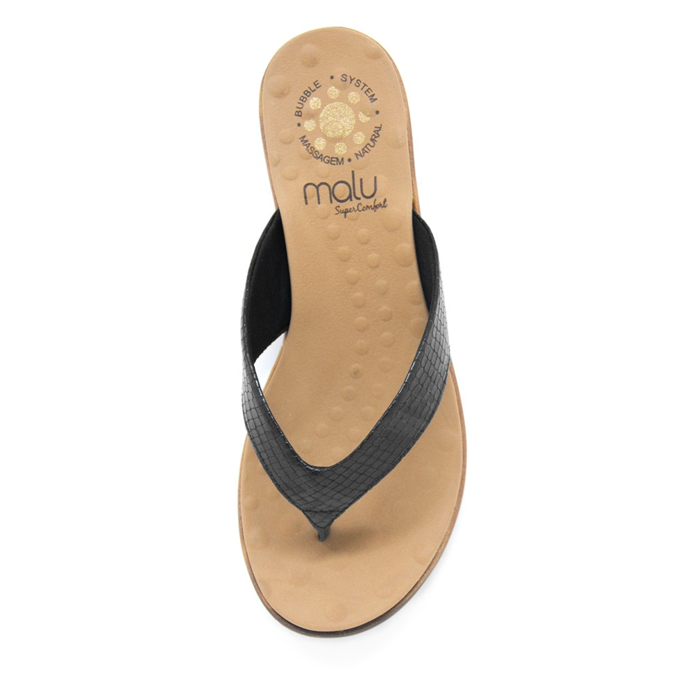 Sandália Rasteira de Dedo Malu Nubia
